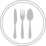 food, menu, button